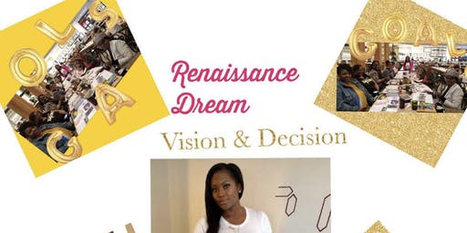 Womens Empowerment Event Vision-board, Yoaga & Financial Wellness Event a Vision In The City