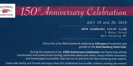 New Hamburg Yacht Club 150th Anniversary Celebration