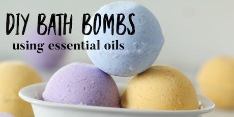 Making Bath Bombs tickets