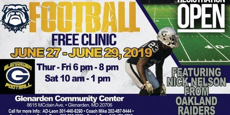 NICK CITYY ONE DAY YOUTH FOOTBALL CLINIC tickets
