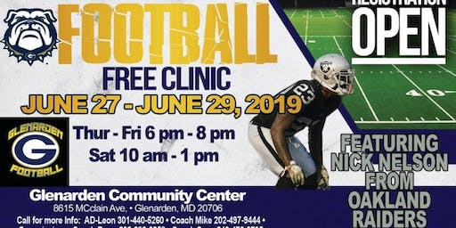 NICK CITYY ONE DAY YOUTH FOOTBALL CLINIC