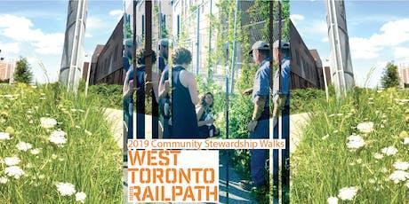 West Toronto Railpath Stewardship Walks tickets