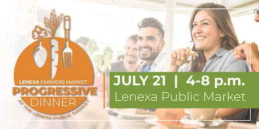 Farmer's Market Progressive Dinner at the Lenexa Public Market