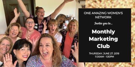 Marketing Club - June 27th tickets