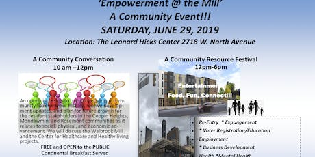 EMPOWERMENT AT THE MILL  tickets
