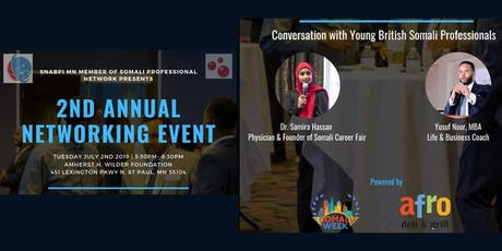 YOUNG SOMALI PROFESSIONALS NETWORKING EVENT tickets