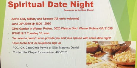 Spiritual Date Night tickets