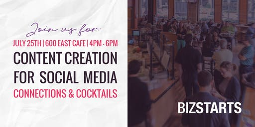 Content Creation for Social Media, Connections, & Cocktails