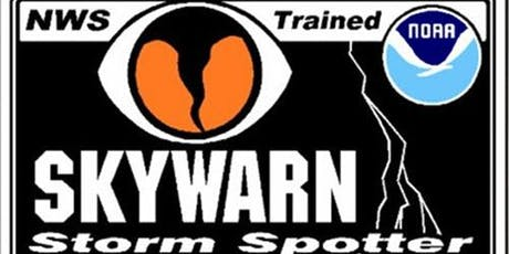 SKYWARN Training tickets