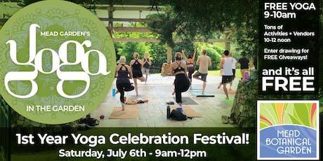 Yoga Celebration Festival tickets