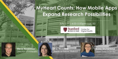 CDH Workshop: MyHeart Counts- How Mobile Apps Expand Research Possibilities tickets