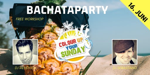 Colour Up Bachataparty - Beach Edition