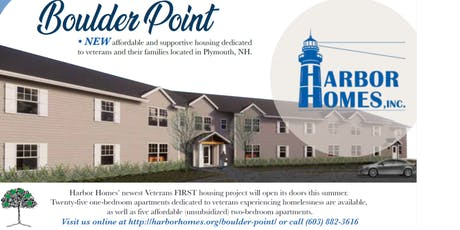 Boulder Point Veteran Housing Ribbon Cutting Ceremony tickets