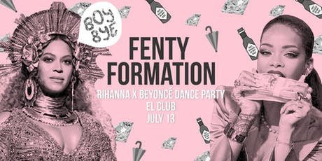 Fenty Formation: Rihanna X Beyoncé Dance Party tickets