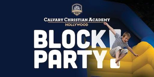 Calvary Christian Academy Hollywood Block Party