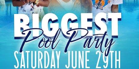 Merc Nasty & DJ SlickPulla Presents: THE BIGGEST POOL PARTY tickets