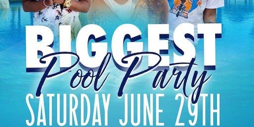 Merc Nasty & DJ SlickPulla Presents: THE BIGGEST POOL PARTY