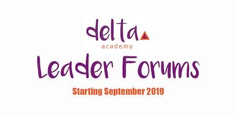 Leader Forums: September 2019 tickets