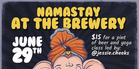 Namastay at the Brewery tickets