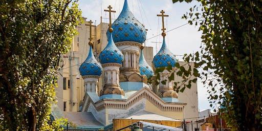 Parque Lezama + Iglesia Ortodoxa Rusa (Cupos Limitados)