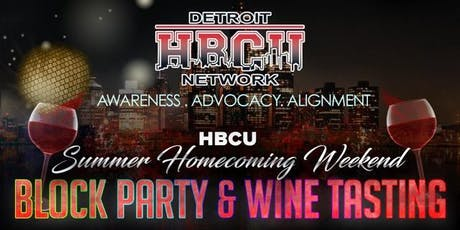 """""""Summer Homecoming"""" Block Party & Wine Tasting! (General Admission) tickets"""