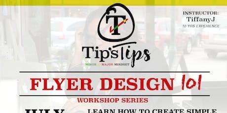 Tip's Tips | Branding 101 tickets