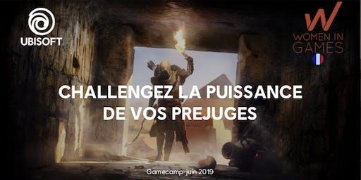 « Challengez la puissance de vos préjugés » - Atelier Ubisoft en collaboration avec WiG
