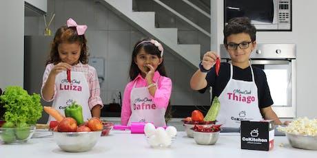 [AULA AVULSA] Curso de Culinária Infantil - Com Chef Larissa Gonçalves ingressos
