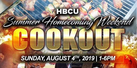 Summer Homecoming Cookout tickets