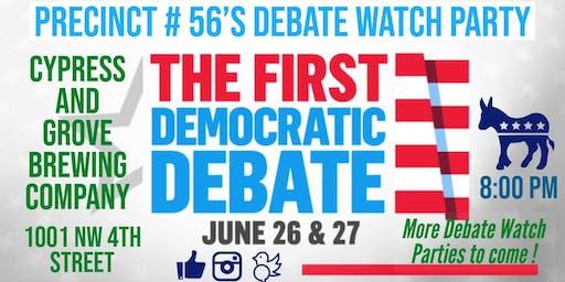 The 1st NBC/ MSNBC 2020 Democratic Debate Watch Party / Gainesville, Fla.