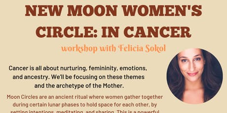 New Moon Women's Circle: in Cancer tickets