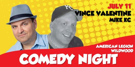 Post 184 Comedy Night: Vince Valentine, Mike KC tickets