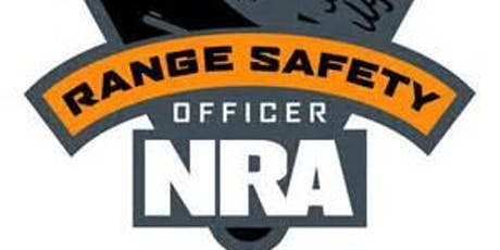 NRA RANGE SAFETY OFFICER CLASS tickets