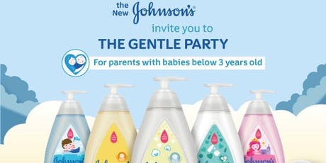 Weekend Play Date for Parent & Child (<3yo) : The Johnson's Gentle Party tickets