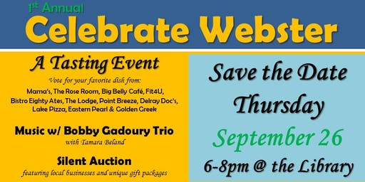 Celebrate Webster-A FUNdraiser!