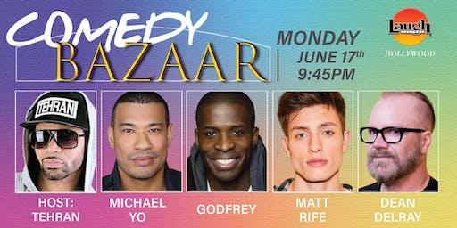 Godfrey, Michael Yo, Dean Delray and more - Comedy Bazaar!