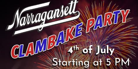 Narragansett Fourth of July Clambake Party tickets