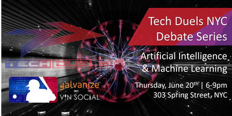 Tech Duels 2019 Debate Series - Machine Learning/Artificial Intelligence tickets