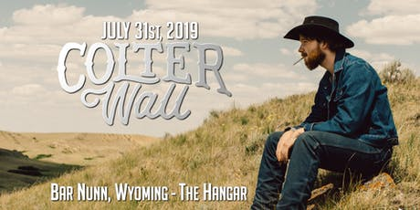 Colter Wall at The Hangar tickets