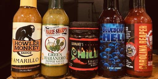 Neon Cactus x The Chilli Shop: Hot Sauce Supper Club
