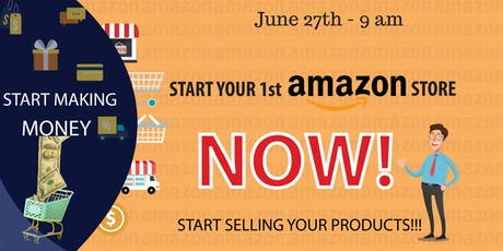 Starting your 1st Amazon Store tickets