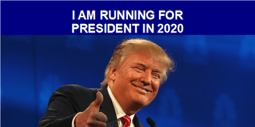 Trump 2020 Election Announcement