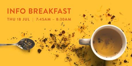 Info Breakfast - Sydney - 18 July 2019 tickets