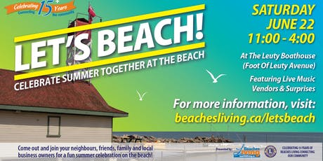 Let's BEACH! 2019 tickets