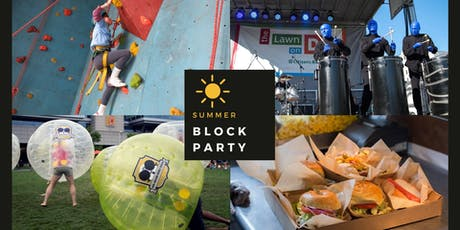 Summer Block Party tickets