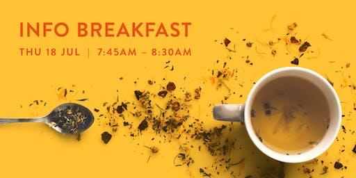 Info Breakfast - Perth - 18 July 2019
