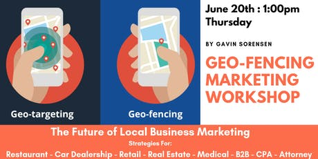 Geo-Fencing Marketing Strategies | Local Business tickets