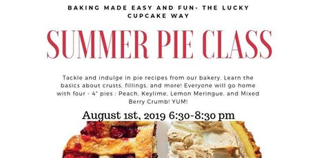 Summer Pie Class tickets