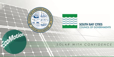 Residential Solar in Carson Workshop tickets