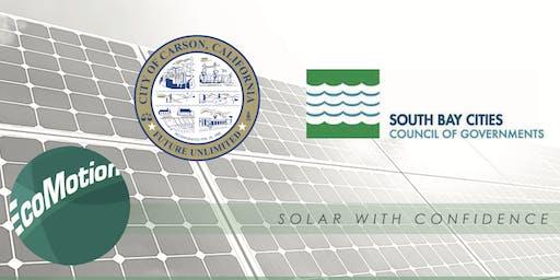 Residential Solar in Carson Workshop